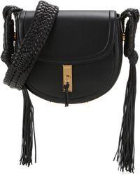 Altuzarra - Ghianda Bullrope Saddle Leather Shoulder Bag - Lyst