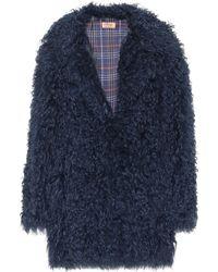 Meteo by Yves Salomon - Oversized Fur Coat - Lyst