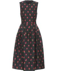Simone Rocha - Floral-embroidered Dress - Lyst