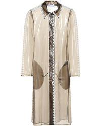 RED Valentino - Semi-transparent Raincoat - Lyst