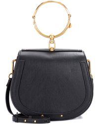 Chloé - Medium Nile Leather Bracelet Bag - Lyst