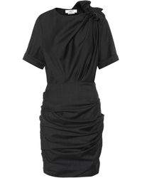 Étoile Isabel Marant - Oria Checked Wool Minidress - Lyst