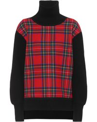 Burberry - Wool And Cashmere Sweater - Lyst