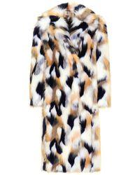Givenchy - Faux Fur Coat - Lyst