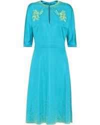 Prada - Exclusive To Mytheresa.com – Embellished Midi Dress - Lyst