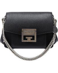 63f2d998b41 Lyst - Givenchy Antigona Mini Leather Shoulder Bag in Black