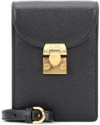 Mark Cross - Josephine Mini Leather Shoulder Bag - Lyst