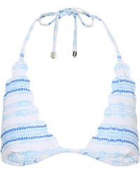 Heidi Klein - Gili Islands Striped Bikini Top - Lyst