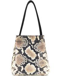 Rejina Pyo - Rita Snake-printed Leather Tote - Lyst
