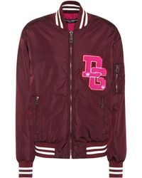 Dolce & Gabbana - Varsity Bomber Jacket - Lyst