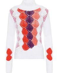Peter Pilotto - Cotton-blend Sweater - Lyst
