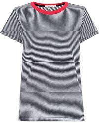 Rag & Bone - Striped Cotton T-shirt - Lyst