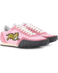 Kenzo Pink Gardia Sneakers 2jFwgWxU