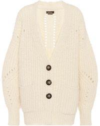 Isabel Marant | Favian Wool And Alpaca Cardigan | Lyst