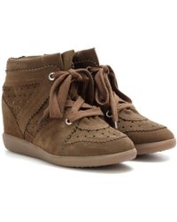 Isabel Marant - Wedge-Sneakers Bobby - Lyst