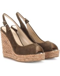 Jimmy Choo - Prova Suede Sandals - Lyst