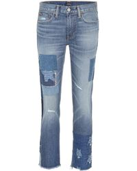 Polo Ralph Lauren - Jeans Waverly cropped - Lyst