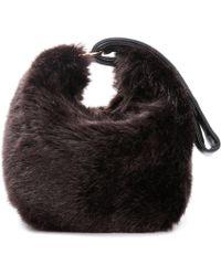 Victoria Beckham - Tissue Faux-fur Handbag - Lyst