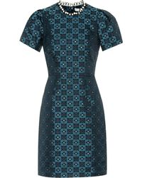 Mary Katrantzou - Kleid Azurite mit Verzierungen - Lyst