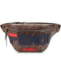 Fendi - Mania Printed Belt Bag - Lyst