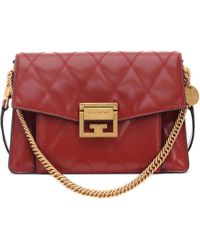 Givenchy - Gv3 Small Leather Shoulder Bag - Lyst
