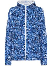 Tory Sport - Packable Floral-printed Jacket - Lyst