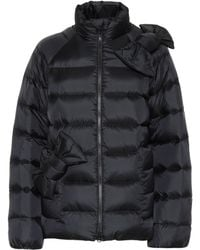 RED Valentino - Quilted Down Jacket - Lyst