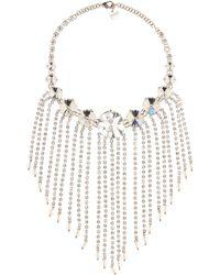 Miu Miu - Crystal-embellished Necklace - Lyst