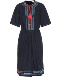 Talitha - Embroidered Cotton Dress - Lyst