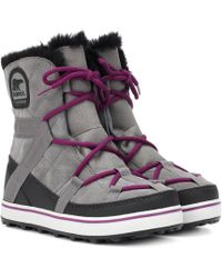 Sorel - Glacy Explorer Shortie Boots - Lyst