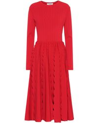 Valentino Knitted Dress - Red