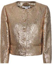 Oscar de la Renta - Jewel Brocade Jacket - Lyst