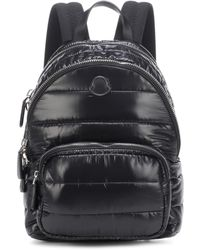 Moncler Kilia Medium Quilted Backpack - Black