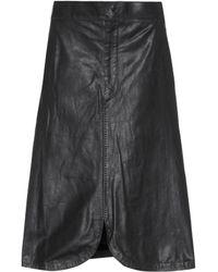 Isabel Marant - Boreal Leather Skirt - Lyst