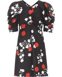 Isa Arfen - Floral-printed Cotton Minidress - Lyst