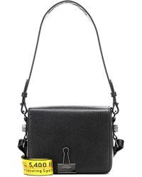 Off-White c/o Virgil Abloh - Binder Clip Leather Shoulder Bag - Lyst