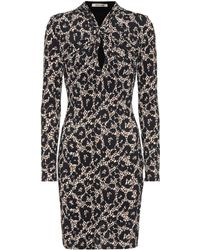 Roberto Cavalli - Long-sleeved Minidress - Lyst
