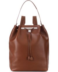 The Row - Backpack 11 Leather Backpack - Lyst