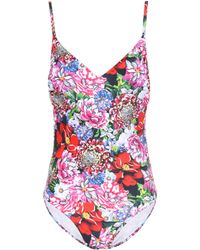 Mary Katrantzou - Floral-printed Swimsuit - Lyst