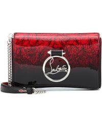 bd94a33b2b7 Christian Louboutin Posh Leopard Print Leather Crossbody Bag in ...