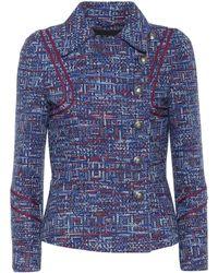 Etro - Tweed Jacket - Lyst