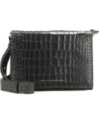 Victoria Beckham - Mini Embossed Leather Shoulder Bag - Lyst