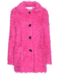 Vanessa Bruno Athé | Faux Shearling Coat | Lyst