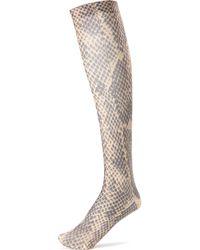 Dries Van Noten - Wool And Cashmere Printed Socks - Lyst