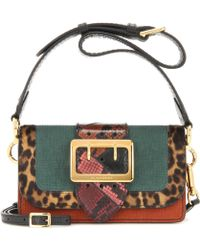 19229ebd9ad5 Burberry - Mytheresa. Com Exclusive The Patchwork Snakeskin And Leather  Crossbody Bag - Lyst