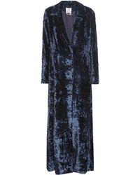 Rosie Assoulin   Duster Velvet Coat   Lyst
