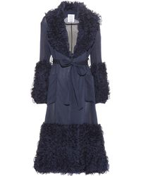 Rosie Assoulin   Morel Ruffled Cotton And Silk Coat   Lyst