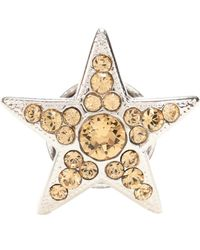 Jimmy Choo - Small Starry Crystal Shoe Button - Lyst