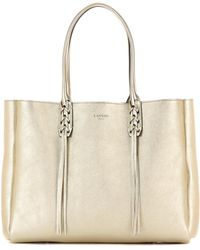Lanvin - Leather Tote Bag - Lyst