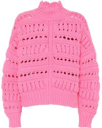 Isabel Marant - Cotton-blend Jumper - Lyst